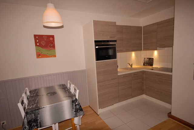 Location au ski Studio 6 personnes (ISA72) - Residence Isards - Gourette - Kitchenette