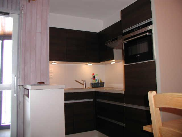 Location au ski Studio 6 personnes (ISA93) - Residence Isards - Gourette - Kitchenette
