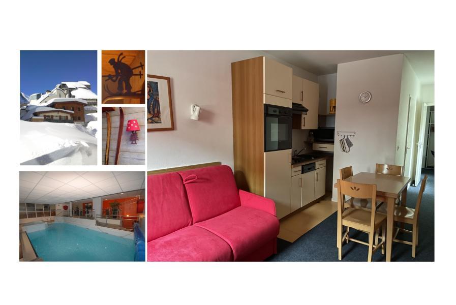 Rent in ski resort Studio 4 people (2) - Résidence le Chalet - Gourette
