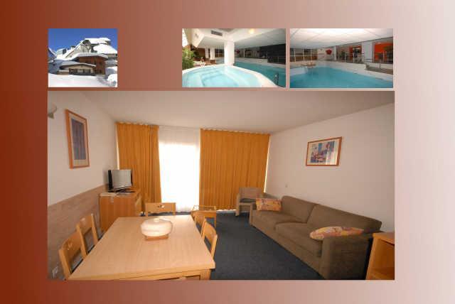 Location au ski Appartement 2 pièces 6 personnes (17) - Residence Le Chalet - Gourette
