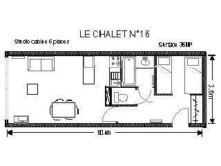 Location au ski Studio 6 personnes (16) - Résidence le Chalet - Gourette