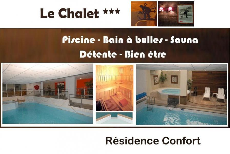 Rent in ski resort Résidence le Chalet - Gourette - Plan