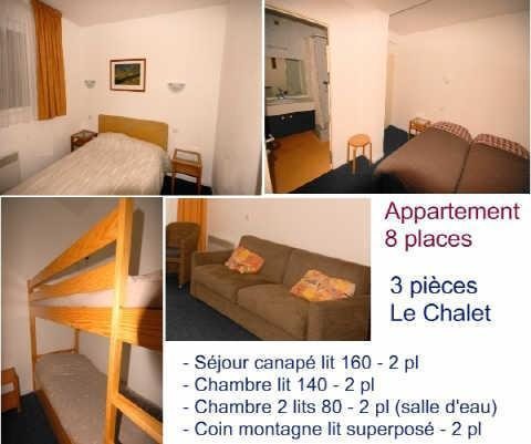 location appartement 8 personnes gourette