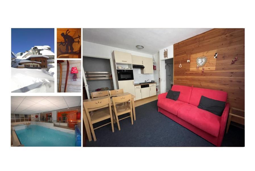 Location au ski Studio 4 personnes (6) - Résidence le Chalet - Gourette - Couchage