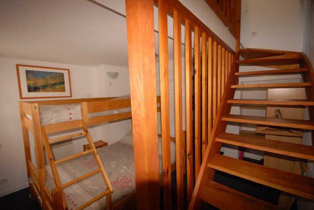 Location au ski Studio mezzanine 7 personnes (21) - Résidence le Chalet - Gourette - Appartement