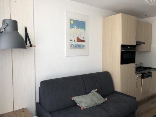 Location au ski Studio 4 personnes (ARC39) - Résidence les Arcizettes - Gourette - Appartement