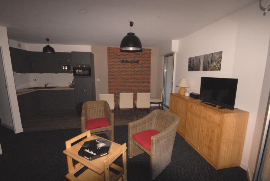 Location au ski Appartement 2 pièces coin montagne 8 personnes (E3) - Résidence les Marmottes - Gourette - Kitchenette