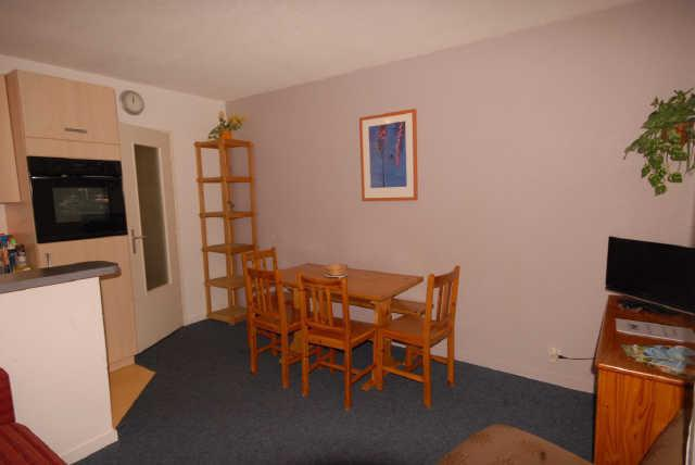 Rent in ski resort Studio 4 people (F1) - Résidence les Marmottes - Gourette - Apartment