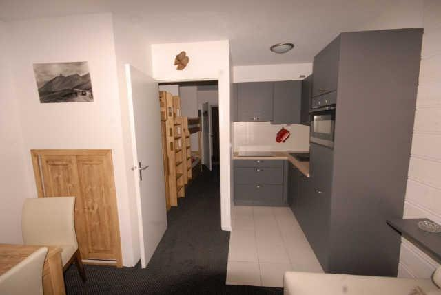 Location au ski Studio 5 personnes (291) - Résidence les Marmottes - Gourette - Appartement