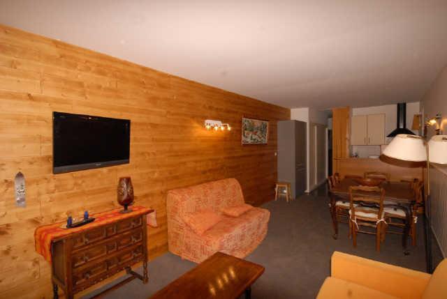 Location au ski Appartement 3 pièces 6 personnes (NS445) - Residence Neige Et Soleil - Gourette - Coin repas