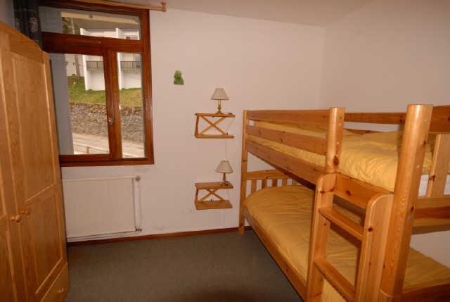 Location au ski Appartement 3 pièces 6 personnes (NS445) - Residence Neige Et Soleil - Gourette - Lits superposés