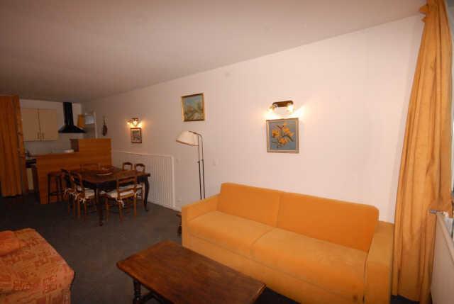 Location au ski Appartement 3 pièces 6 personnes (NS445) - Residence Neige Et Soleil - Gourette - Séjour