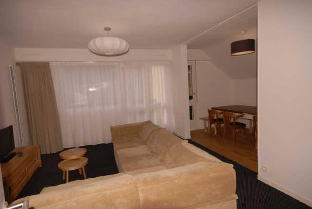 Soggiorno sugli sci Appartamento su due piani 5 stanze per 10 persone (PRI61) - Résidence Primevères - Gourette - Soggiorno