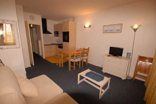 Rent in ski resort Studio 6 people (SAN144) - Résidence Sanctus - Gourette