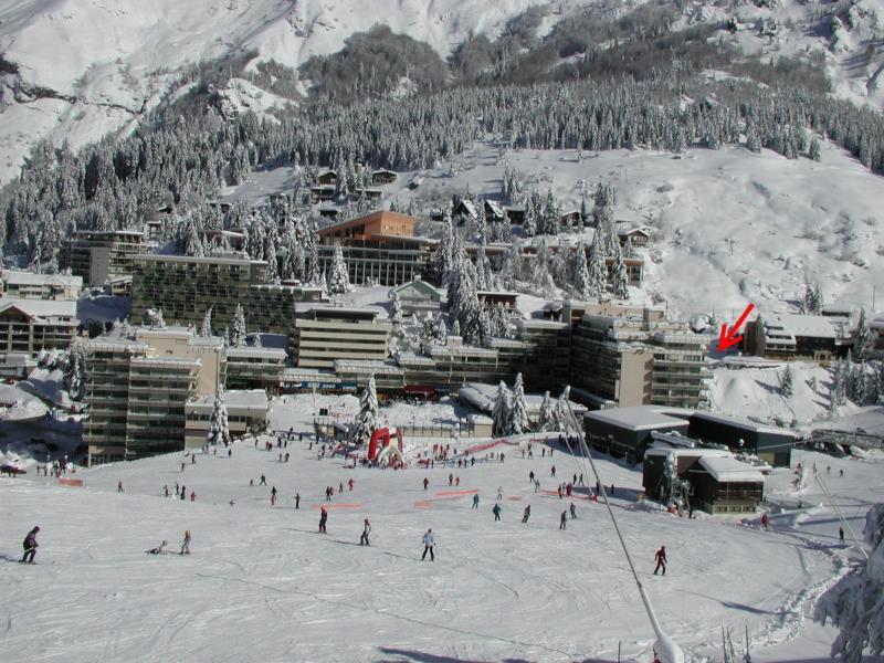 Rent in ski resort Studio 6 people (SAN136) - Résidence Sanctus - Gourette