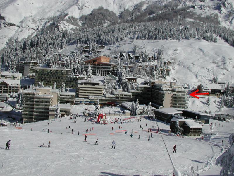 Location au ski Studio coin montagne 6 personnes (SAN37) - Résidence Sanctus - Gourette