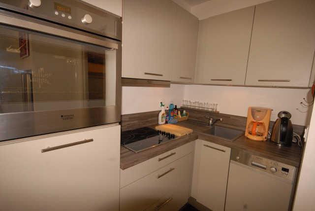 Rent in ski resort Logement 1 pièces 6 personnes (SAN47) - Résidence Sanctus - Gourette - Kitchen