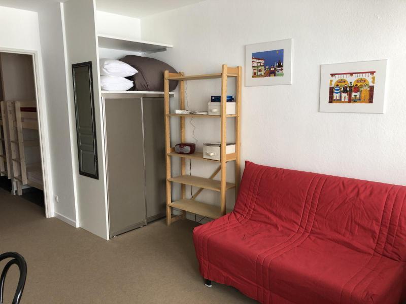 Rent in ski resort Logement 1 pièces 6 personnes (SAN47) - Résidence Sanctus - Gourette - Living room