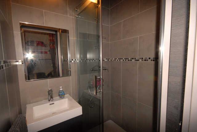 Location au ski Studio 4 personnes (SAR123) - Residence Sarriere - Gourette - Salle d'eau
