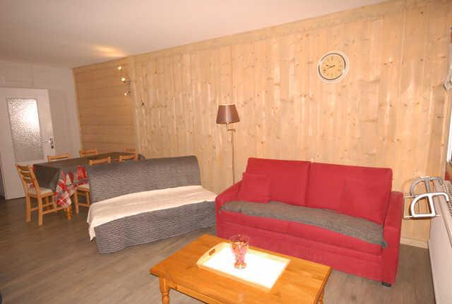 Location au ski Studio 4 personnes (SAR123) - Residence Sarriere - Gourette - Séjour