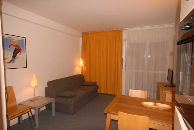 Location au ski Studio 6 personnes (SAR205) - Residence Sarriere - Gourette - Séjour