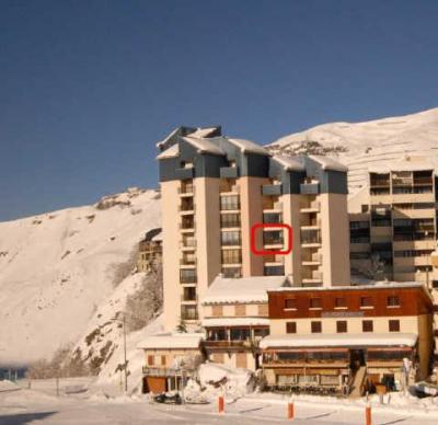 Location au ski Studio 6 personnes (ISA72) - Residence Isards - Gourette