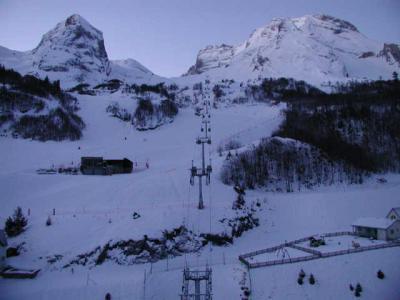 Location au ski Studio 6 personnes (ISA93) - Residence Isards - Gourette - Extérieur hiver