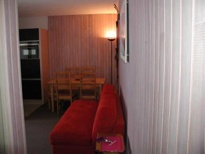 Location au ski Studio 6 personnes (ISA93) - Residence Isards - Gourette - Canapé-lit