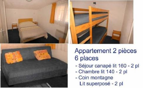 Location au ski Appartement 2 pièces 6 personnes (14) - Residence Le Chalet - Gourette