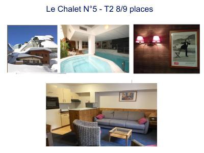 Location au ski Appartement 2 pièces 9 personnes (5) - Residence Le Chalet - Gourette