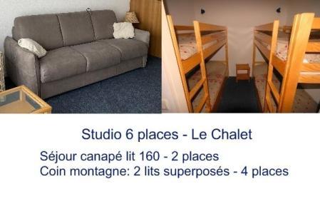 Location au ski Studio 6 personnes (19) - Residence Le Chalet - Gourette