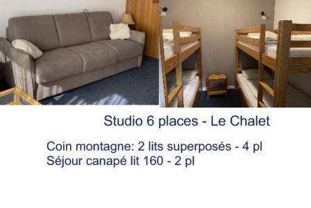 Location au ski Studio 6 personnes (9) - Residence Le Chalet - Gourette