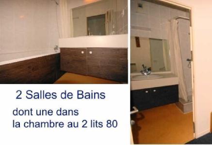 Location au ski Appartement 3 pièces 8 personnes (10) - Residence Le Chalet - Gourette - Salle de bains