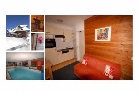 Location au ski Studio 4 personnes (6) - Residence Le Chalet - Gourette - Canapé