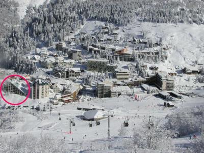 Location au ski Studio 6 personnes (PRI53) - Residence Primeveres - Gourette