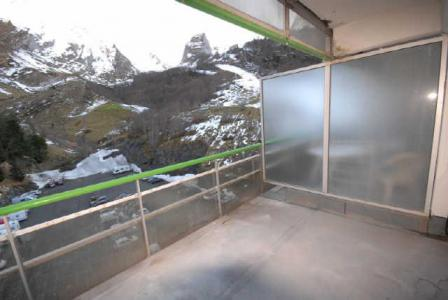 Location au ski Studio 6 personnes (SAN100) - Residence Sanctus - Gourette - Terrasse