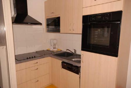 Location au ski Studio 6 personnes (SAN144) - Residence Sanctus - Gourette - Cuisine