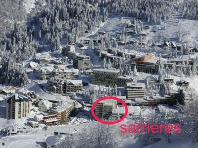 Location au ski Studio 6 personnes (SAR205) - Residence Sarriere - Gourette - Extérieur hiver