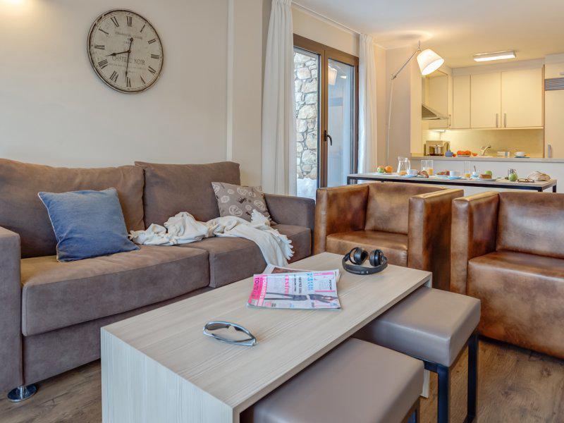 Аренда на лыжном курорте Апартаменты 5 комнат 8 чел. - Pierre & Vacances Résidence Andorra Bordes d'Envalira - Grandvalira