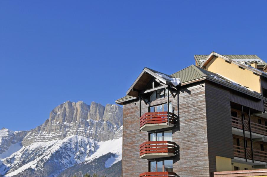 Location au ski Résidence les Dolomites - Gresse en Vercors - Extérieur hiver