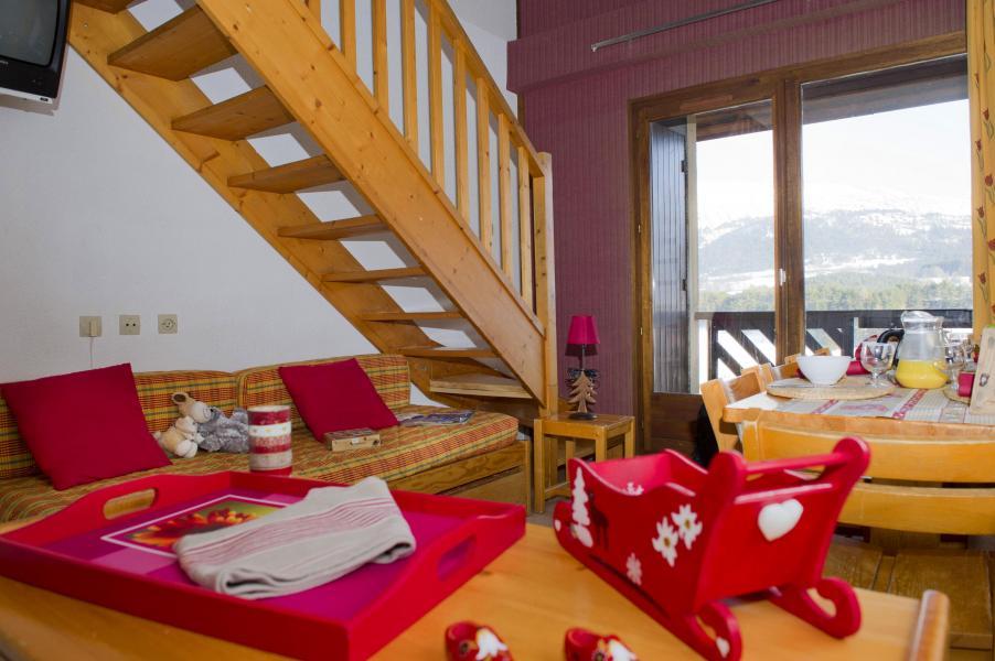 Location au ski Résidence les Dolomites - Gresse en Vercors - Escalier