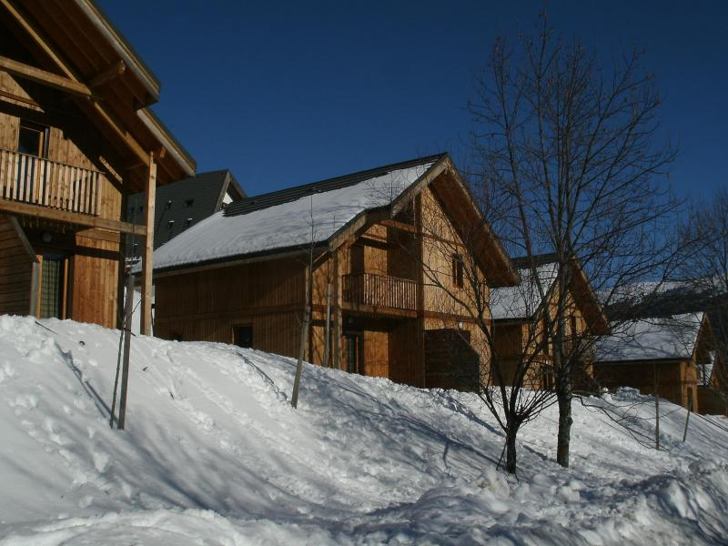 Rent in ski resort Résidence les Gentianes - Gresse en Vercors - Winter outside
