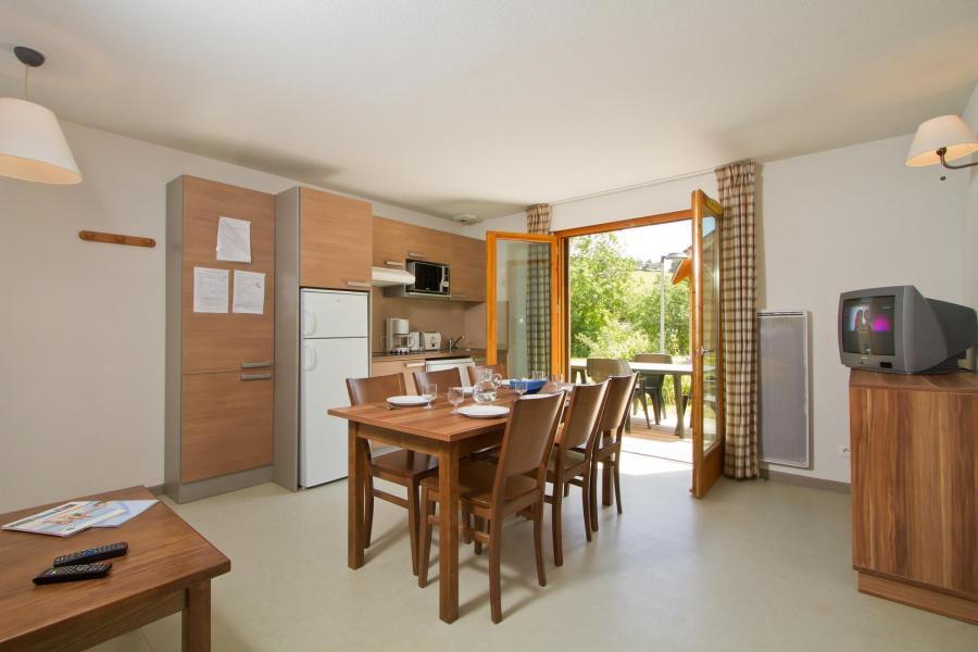 Rent in ski resort Résidence les Gentianes - Gresse en Vercors - Dining area