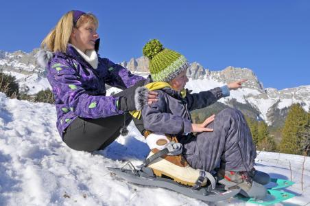 Vacances en montagne Résidence les Dolomites - Gresse en Vercors - Extérieur hiver