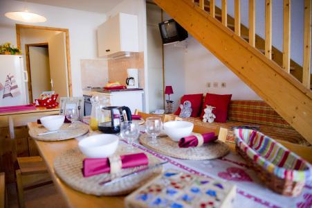 Location au ski Résidence les Dolomites - Gresse en Vercors - Cuisine ouverte