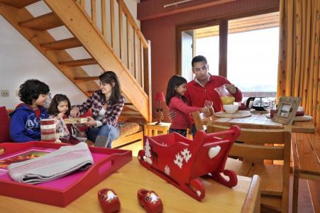 Rent in ski resort Résidence les Dolomites - Gresse en Vercors - Living room