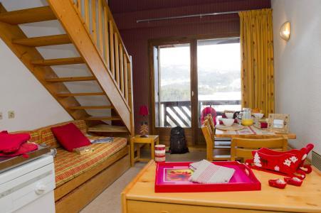 Rent in ski resort Résidence les Dolomites - Gresse en Vercors - Sofa-bed