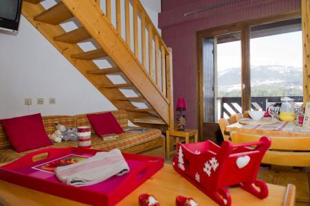 Rent in ski resort Résidence les Dolomites - Gresse en Vercors - Stairs