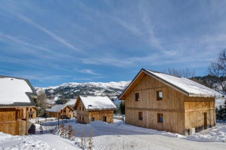 Vacances en montagne Résidence les Gentianes - Gresse en Vercors - Extérieur hiver