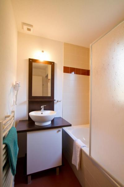 Location au ski Residence Les Gentianes - Gresse en Vercors - Salle de bains